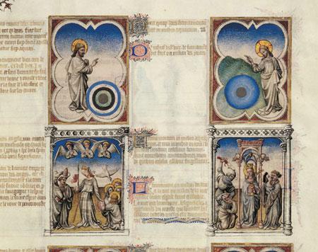 Biblia Moralizada de los hermanos Limbourg