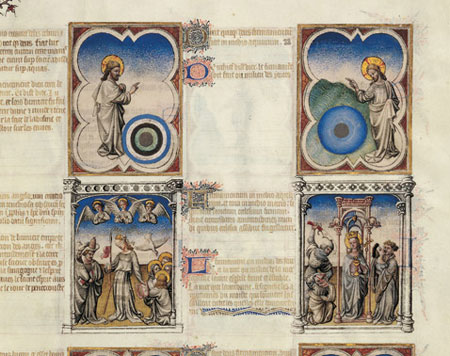 The Bible moralisée of the Limbourg brothers